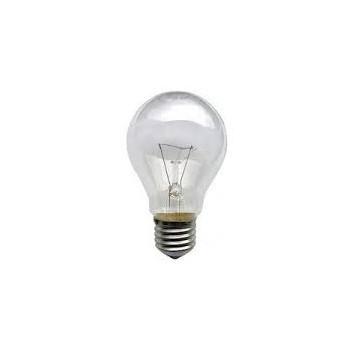 Lámpara Standar Clara 60w E-27