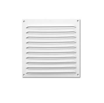 Rejilla ventilación blanca 15x15