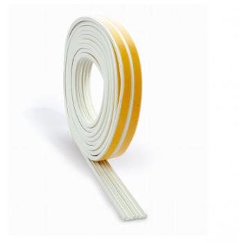 Burlete Caucho Blanco