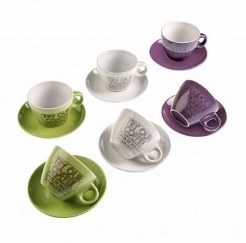 Set 6 tazas Try Our