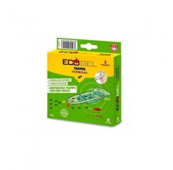 Trampa Hormigas 3 piezas Ecogel